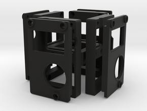 4-Camera Rig in Black Natural Versatile Plastic