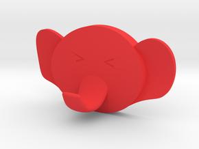 ELEPHANTO in Red Processed Versatile Plastic