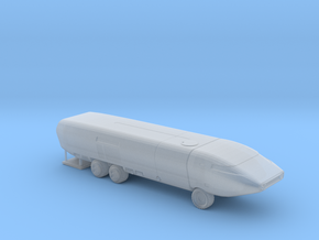 Ark II Mobile Laboratory, Multiple Scales in Smooth Fine Detail Plastic: 1:150