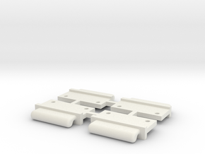 FixAV Mosler v2 MiniZ 4pc in White Strong & Flexible
