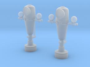 1/32 USN Binnacle Set in Smooth Fine Detail Plastic