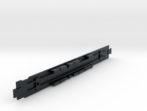 D&RGW Diner Chassis in Black Hi-Def Acrylate