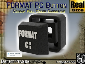 Black and White Color Key of Format PC in Full Color Sandstone