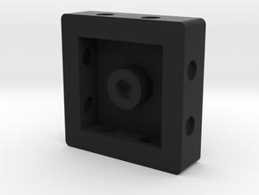 4-camera Base  in Black Natural Versatile Plastic