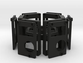 6-Camera Rig in Black Natural Versatile Plastic