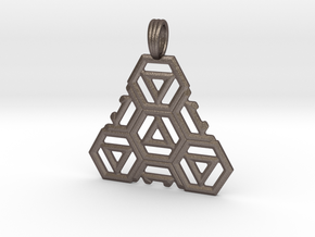 FUTURE CORE in Polished Bronzed Silver Steel