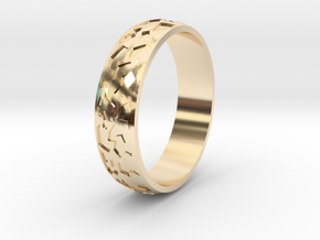 """Ring """"Ornament 2"""" in 14K Yellow Gold"""
