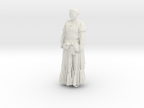 Printle C Femme 072 - 1/32 - wob in White Strong & Flexible
