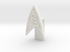 STAR FLEET Eng PIN in White Natural Versatile Plastic