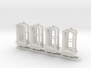 HO WCK Single Simple Window X 8 in White Natural Versatile Plastic