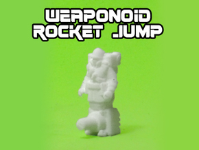Rocket Jump Transforming Weaponoid Kit (5mm) in White Natural Versatile Plastic