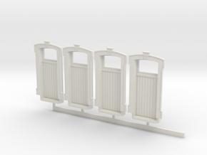 HO WCK 5ft 3in Door  X 4 in White Strong & Flexible