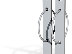 Bar None in Polished Bronze (Interlocking Parts)