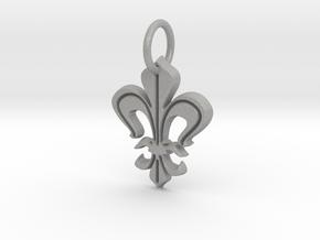 """Heraldic """"Lilie 2"""" in Aluminum"""