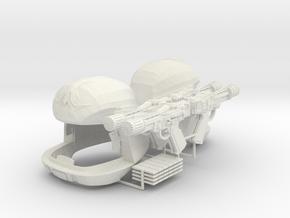 Pilot Pyramid Game (Battlestar Galactica TOS), 1/6 in White Natural Versatile Plastic
