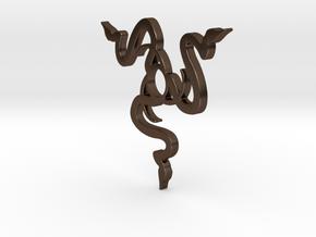Razer Logo 696 in Polished Bronze Steel