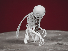 Tooth Fairy Skeleton in White Strong & Flexible