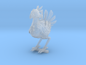 CHOCOBO REWORKED / PEG STAND in Smooth Fine Detail Plastic: Medium