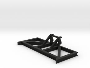 Schuifraam Groot V5.0 in Black Natural Versatile Plastic