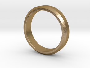 CASUAL in Polished Gold Steel: 10 / 61.5