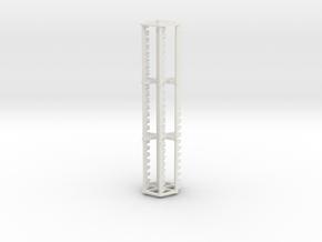 15 ft finger reel in White Natural Versatile Plastic