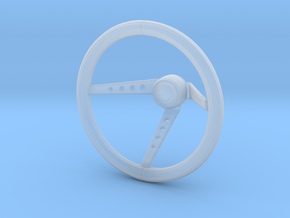 Steering Wheel Youngtimer 70s - 1/10 in Smooth Fine Detail Plastic