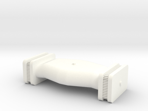Side Draft Air Cleaner 1/25 in White Strong & Flexible Polished