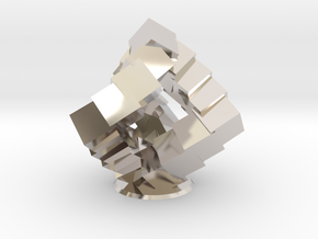 Cubic Helix in Rhodium Plated Brass