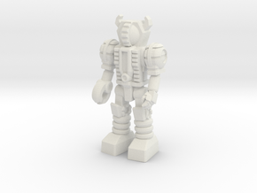Waruder, Kuwagatrer Type, at attention 35mm Mini in White Natural Versatile Plastic