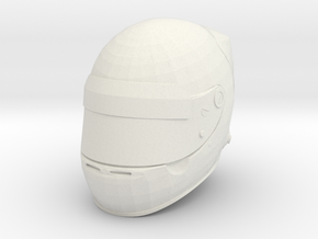 Helmet F1 1/8 in White Natural Versatile Plastic