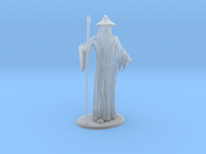 Gandalf Miniature in Smoothest Fine Detail Plastic: 1:60.96