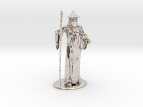 Gandalf Miniature in Platinum: 1:60.96