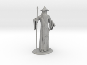 Gandalf Miniature in Raw Aluminum: 1:60.96