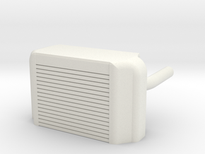 Intercooler Sevo Case in White Natural Versatile Plastic