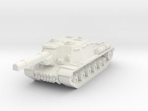 ISU-152 in White Natural Versatile Plastic