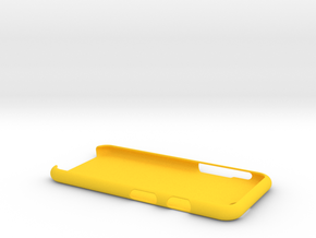 Case for Iphone 6 (XL) + your name in Yellow Processed Versatile Plastic