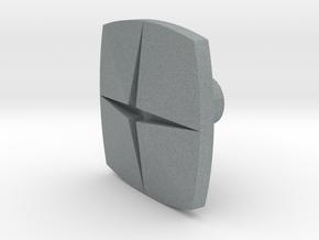 Tile1 (Handle/Pull) in Polished Metallic Plastic