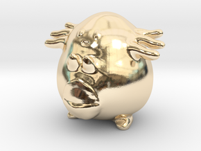 Chansey in 14K Yellow Gold