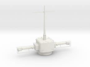 1/32 DKM Fumo 23 Radar w.10.5 m rangefinder (aft) in White Natural Versatile Plastic
