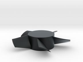 Imp 35mm Rotor L in Black Hi-Def Acrylate