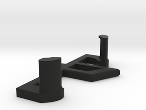 Moverio BT-300 -DJI (+Mavic) Mount (RT side 2/2) in Black Natural Versatile Plastic