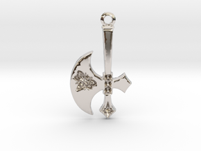 Battle Axe to Benefit N.O.W. in Rhodium Plated Brass