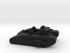 Infantry Fighting Vehicle in Black Natural Versatile Plastic