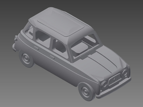 Renault 4 Hatchback 1. gen. 1:160 scale (1 car) in Frosted Ultra Detail