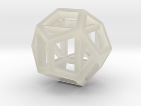 dodecahexahedron in Transparent Acrylic