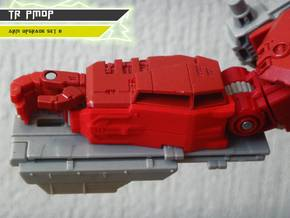 TR PMOP Arm Upgrade Set B in Red Strong & Flexible Polished