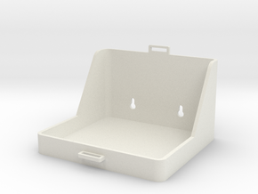 1:6 scale Hasbro HMMWV Jerry can holder in White Natural Versatile Plastic