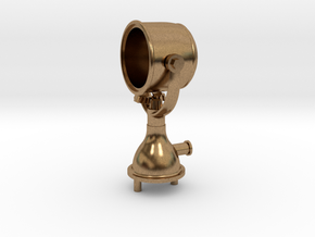 Mile Ray Search Light, Brass in Raw Brass