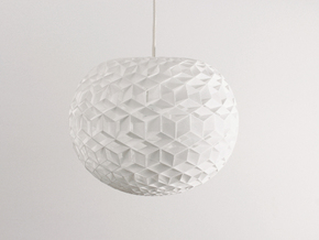 Luminous in White Natural Versatile Plastic
