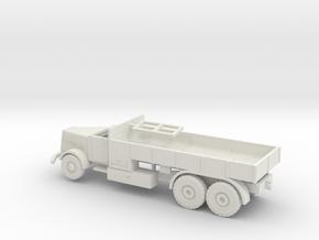 1/144 Faun L900 German tank transporter in White Natural Versatile Plastic